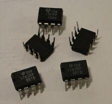 5x Original TDE1767DP IC Baustein, DIP-8, Relay and Lamp-Driver, NOS