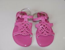 New Stride Rite Pink Patent Sandals Size 11