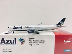 Herpa Wings Azul Brazilian Airlines Airbus A330-900neo 1:500 PR-ANZ 534987