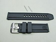 Genuine Luminox Navy Seal watch band black 23mm Series 8800 8802 8813 8815 8817