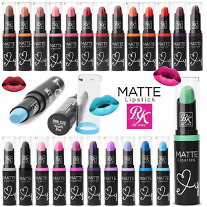 RUBY KISSES  MATTE LIPSTICK  AVAILABLE IN 36 SHADES - UK SELLER