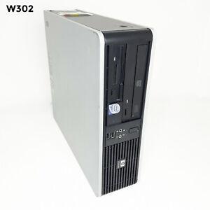HP Compaq dc5800 SFF INTEL CORE 2 Duo E7200 2.53GHz 4GB 640GB WIN 10 PRO W302