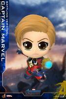 Hot Toys COSB663 Captain Marvel Battling Ver. Cosbaby Avengers Endgame Mini Doll