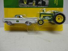 Ertl JOHN DEERE '59 CHEVY El CAMINO with 1959 630 TRACTOR JD 1/64 set