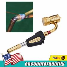 Ignition Turbo Torch Brazing Solder Propane Welding Brass Plumbing Gun Tool