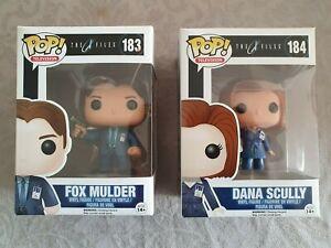 Funko Pop X Files Mulder et Scully