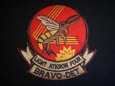 Vietnam War Patch US Navy LIGHT ATTACK SQUADRON 4 BRAVO DETACHMENT