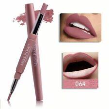 Lip Matte Lipstick Lasting Liner Pencil Waterproof Makeup Pen Multifunct