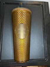 Starbucks Gold Studded Tumbler 24 oz 50th Anniversary Limited Edition Cup copper