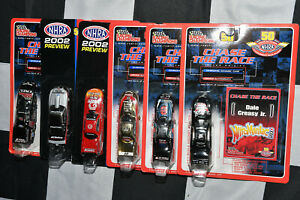 Racing Champions 1/64 NHRA Dragsters Funny Cars Chase the Race multi listing