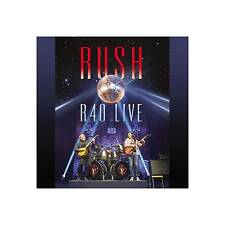 Rush R40 Live Blu-ray 3 CD Set Still Factory FREEPOST