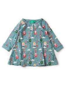 Little Green Radicals Organic Playaway Dress Secret Treehouse 2 3 4 5 7 8