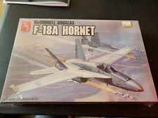 Amt Ertl McDonnell Douglas F-18A Hornet Fighter Jet 1/72 Scale Model Kit NEW