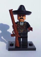 NEW CUSTOM LEGO ZAPATA BATMAN TAN FLESH MEXICAN REVOLUTION HERO CHARRO COWBOY
