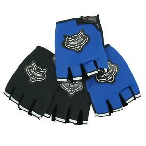Adult Bike Bicycle Cycling Half Finger Gloves, Fingerless