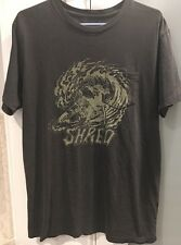 "Men's RVCA Wave ""Shred"" T Shirt M NEW"