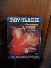 Roy Clark Country Pickin Guitar Song Book Big Note Guitar