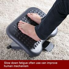Portable Comfortable Adjustable Height Foot Rest Stool Under Desk Home Office