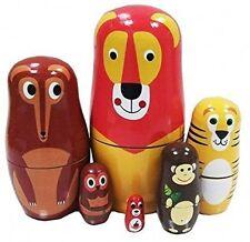 Veewon cute cartoon animal poupées russes matryoshka folie poupée russe kids -
