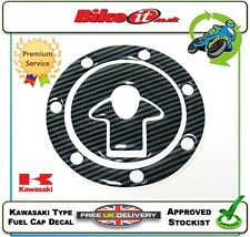 NEW MOTORCYCLE FUEL CAP COVER DECAL CARBON EFFECT TO FIT KAWASAKI ZX7R ZX7 ZX-7R