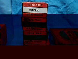 1941 - 1951 Rambler Nash 172.6 173 Main Bearing Set 002 600 Statesman 6 Cyl 4240