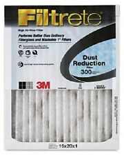 Case of 6-DUST REDUCTION FILTRETE FILTERS,16x20x1 Electrostatic 90 Day FREE SHIP