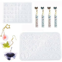 DIY Silicone Earring Pendant Mold for Resin Epoxy Jewelry Making Mould Tool
