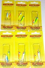 Northland Tackle 1/0 & #2 Gum Drop Floating Jigs (GDB-17-Lot of 6 pks)