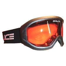 Salice Summit Ski Snowboard Goggles Anti-fog Lens - Onyx Black / Orange