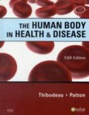 The Human Body in Health & Disease - Hardcover, 5ed - with CD