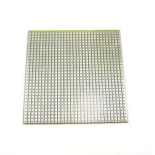 80 mm x 80 mm Universal Circuito Fibra Di Vetro 2.54 mm saldatura Stripboard PCB