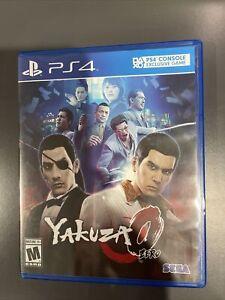 Yakuza 0 (PlayStation 4, 2017) PS4 Blue Label