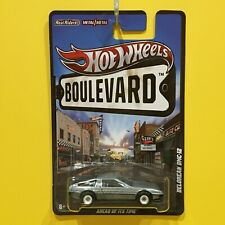 Hot Wheels - Boulevard 2012 - Delorean Dmc-12 (stainless steel) - Real Riders