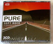 VARIOUS ARTISTS - PURE SOFT ROCK, 46 Top Songs - 3 CD Sigillato