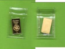 Goldbarren 1 Gramm Feingold Heraeus eingeschweißt