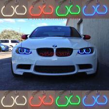 4x RGB Multi-Color Angel Eyes Halo Rings For BMW 3 Series E90 E92 E93 2007-2013
