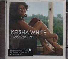 KEISHA WHITE I choose life     4 TRACK CD NEW - NOT SEALED