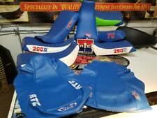 HONDA ATC 250r seat cover 1983 1984 83 84 WITH ATC ON SIDES ALL BLUE