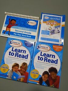 Hooked on Phonics Learn to Read Second Grade Level 1 & 2 New Homeschool