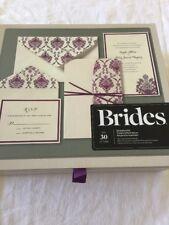 BRIDES®  Pocket Wedding Invitation Kit, Set of 30 Printable Invitations  New