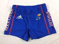 NEW adidas Kansas Jayhawks - Blue Poly Shorts (Multiple Sizes)
