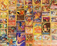 10 Pokémon Charizard Card Lot - Charmander Charmeleon Evolution Vintage New Holo