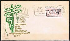 España 1965, FDC Centenario de la Unión Internacional de las Telecomunicaciones