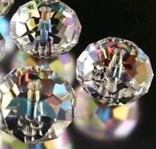 4mm silver Crystal Loose Beads A18
