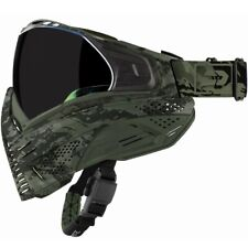 Push Unite Paintball Masque (Olive Camouflage)