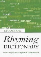 Rhyming Dictionary By Benjamin Zephaniah