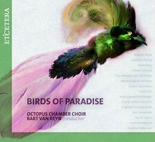 Birds of Paradise CD ETCETERA Octopus Chamber Choir Harvey Finzi Hindemith