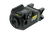 Leapers UTG SCP-LS279S-A Compact Ambidextrous Green Laser, Integral Mount, Black