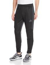adidas Mens Soccer Tiro 17 Pants, Medium, Black/Dark Grey