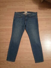 NWT Current/Elliott Jeans The Stiletto Size 32 Medium Wash $204